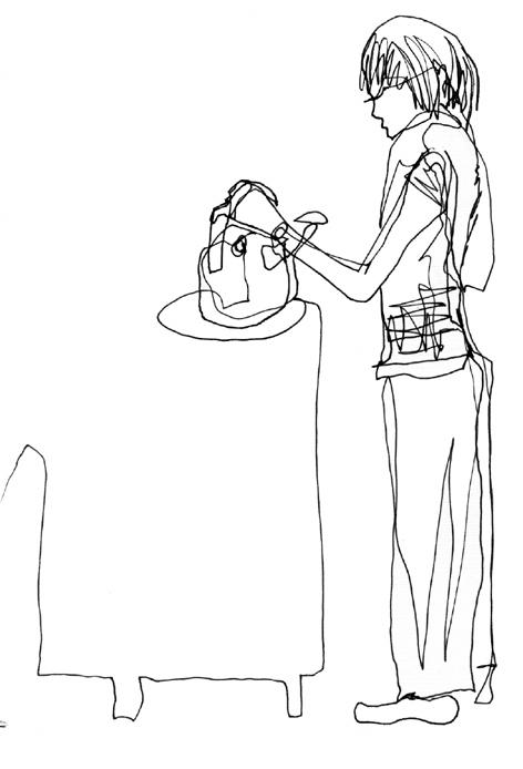 hostelfrau_zeichnung auf papier_297 x 210_2005