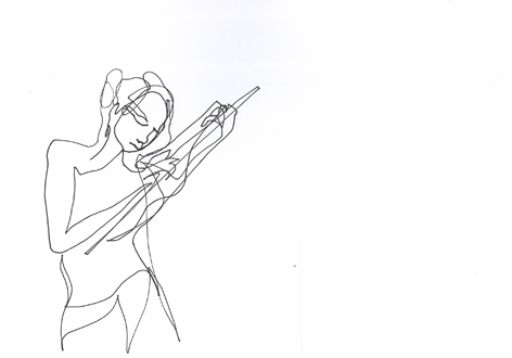 imagination 4_Zeichnung auf Papier, 21 x 29,7 cm_2015