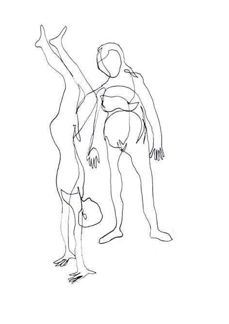 neid_Zeichnung auf Papier_42,0x29,7cm_2014
