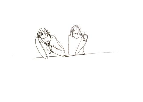 wein_Zeichnung auf Papier, 42 x 59,7 cm_2015