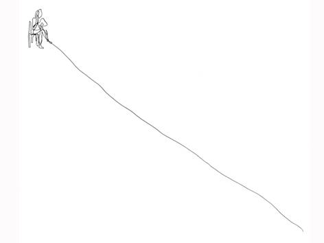 blau 04_zeichnung auf papier_29,7 x 42,0 cm_2004