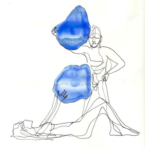 erzaehlmirwasdazu_Zeichnung auf Papier_20x20cm_2010