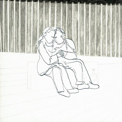 i2a_Zeichnung auf Papier_20x20cm_2009
