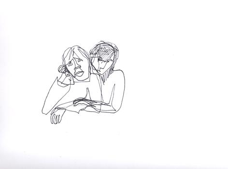 immerwarten_Zeichnung auf Papier_30x20cm_2012