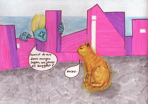 miau_Zeichnung auf Papier_30x20cm_2013