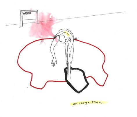 wenn_unvergessen_Zeichnung auf Papier_30x25cm_2010